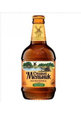 Cerveza Molinero viejo de baril claro 12x0.5L 5.0%alk.