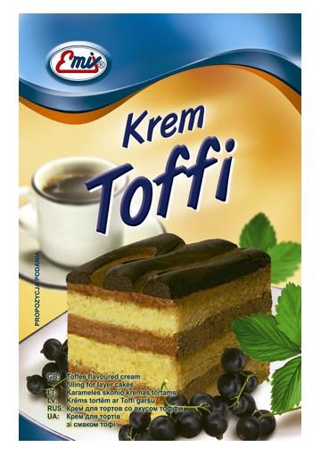 Crema para tarta  TOFFI 15x100g EMIX