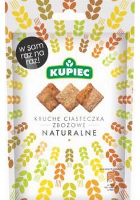 Galletas de cereales natural 14x50gr KUPIEC