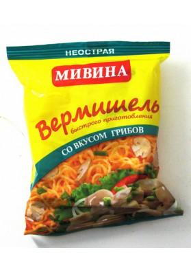 Вермишель МИВИНА со вкусом грибов 50гр LT