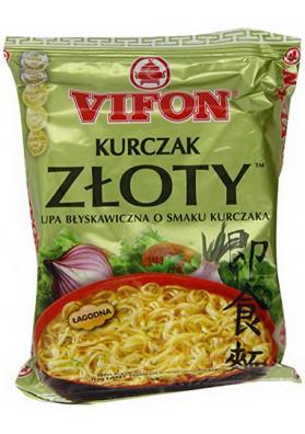 Sopa con fideos sabor pollo  ZLOTY 24x70gr VIFON