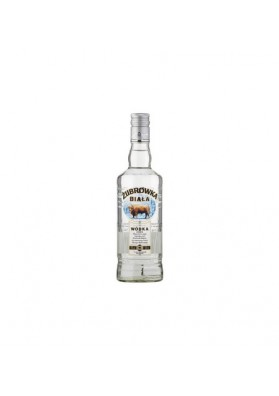 Vodka  ZUBROWKA BIALA  40%alc.500ml