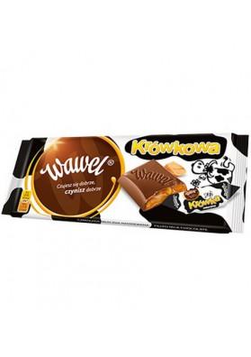 Шоколад молочный  КРОВКОВА 16х100гр WAWEL