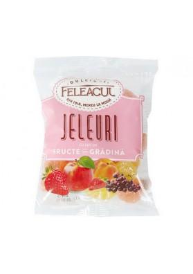 Конфеты желейные со вкусом садовых фруктов 40х150гр FELEACUL