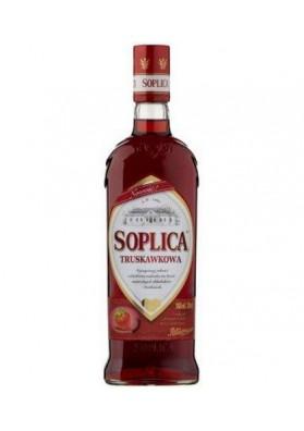 Licor SOPLICA con sabor de fresa  32%alk  500ml
