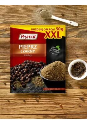 Pimiento negro molido XXL 20x50gr PRYMAT