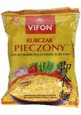 Sopa con fideos sabor pollo  PIECZONY 24x70gr VIFON