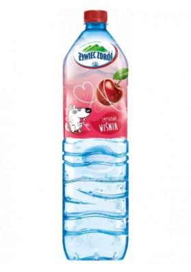 Agua con sabor de guinda 1.5L x6 ZYWIEC