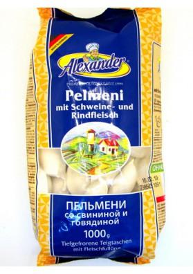 Pelmeni con carne de cerdo y ternera 1kg ALEXANDER