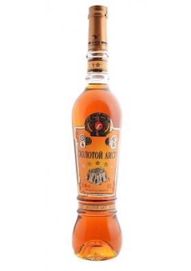 Brandy ZOLOTOY AIST 5años 40%alc.0.5L