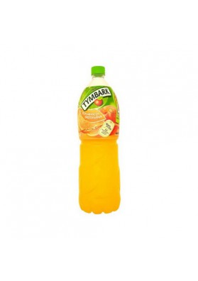 Refresco sabor naranja-melocoton 6x2L TYMBARK