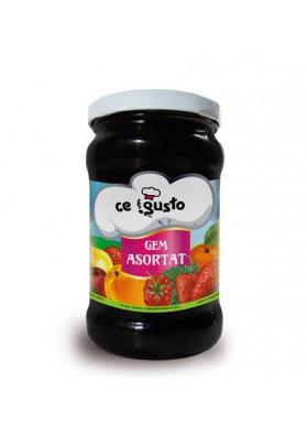 Mermelada de fruta GEM ASORTAT 8X370gr CEGUSTO
