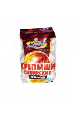 Pelmeni  KREPYSHI SIBIRSKIE 24x625gr ALEXANDER