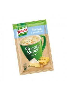 Sopa de queso con crutones GORACY KUBEK 32x22gr KNORR