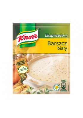 Sopa blanco seco instant BARSZCZ BIALY 22x45gr KNORR