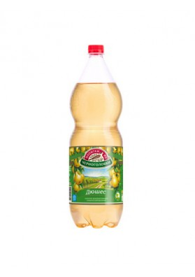 Refresco con sabor de pera DYUSHES 6x2L CHORNOGOLOVKA