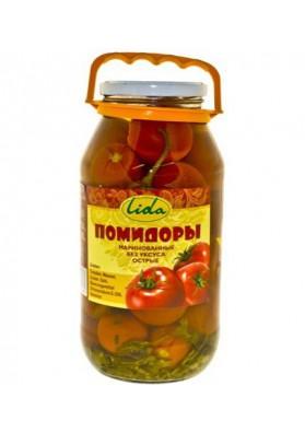 Tomate concervado sin vinagre 6x1850gr LIDA