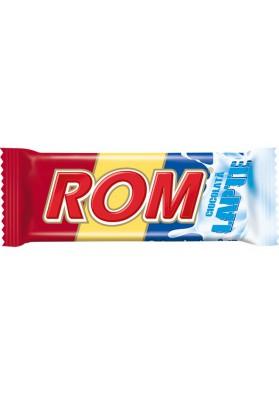 Barita de chocolate de leche con crema de rom 36x30gr ROM