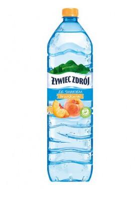 Agua mineral sin gas sabor melocoton 6x1.5L ZYWIEC ZDROJ