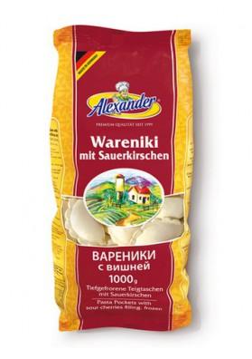 Vareniki con guinda 15x1000gr ALEXANDER