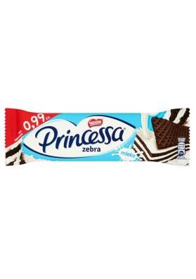 Вафли в шоколаде Принцесса  ЗЕБРА 30х33гр NESTLE