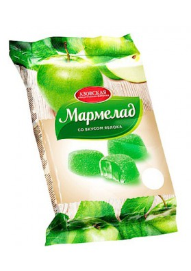 Mermelada con sabor de manzana 12x300gr AZOV