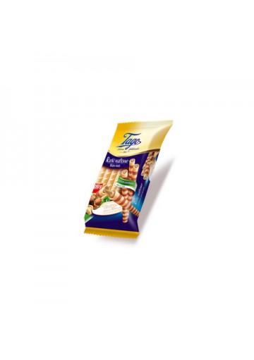Tubos de barquillo con crema de avellana 24x260gr TAGO