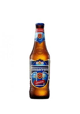 Cerveza rubia TIMISOREANA ORIGINAL 5.0%alc.24x0.33L