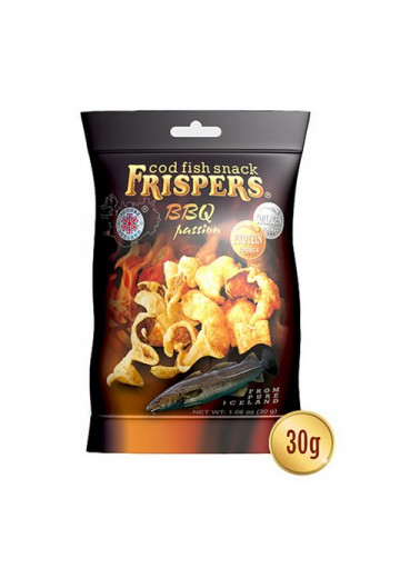 Snack de bacalao BBQ PASSION 16x30gr FRISPERS