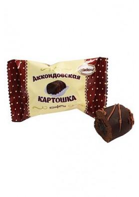 Bombones de chocolate  PATATAS 2kg. AKKOND