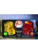 Boquerones (DUETO) 120g.+120g. manzana+tomate  BRIVAIS VILNIS