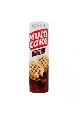 Galletas de azucar con crema cacao MULTI CAKE 180gr.ROSHEN