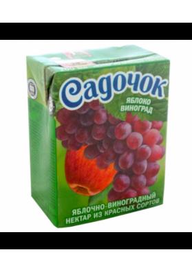 Zumo manzana y uva roja 27x200gr.SADOCHOK