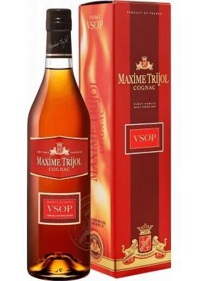 Brandy en caja VSOP 40%alc.0.7L. MAXIME TRIJOL