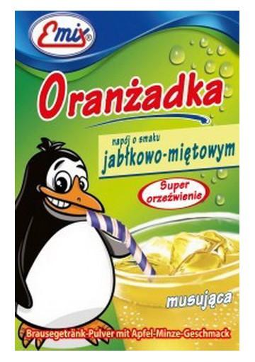 Naranjada con gas en polvo sabor manzana-menta 30x16g EMIX