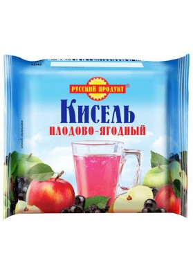 Kisel (gelatina) de FRUTAS Y BAYAS en una briqueta 220gr.PRODUCTO RUSO