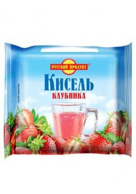 Kisel (gelatina) de FRESA en una briqueta 220gr.PRODUCTO RUSO