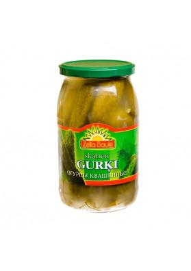 Pepinos fermentados GURKI 900gr.ZELTA SAULE nuevo