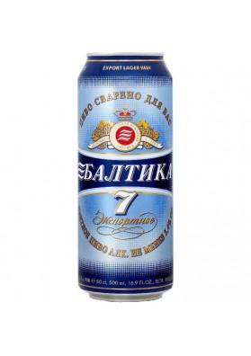 Cerveza BALTIKA Nº7  5.4%alk 0.5L lata