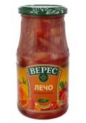 Salsa de LECHO BULGARO (pimiento fresco) 12x500gr.VERES