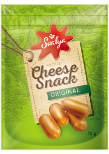 Bocaditos de queso ahumado CHEESE 45% grasa 75gr.SVALYA