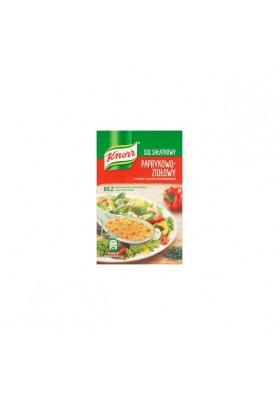 Salsa de ensalada de PIMIENTA Y HIERBAS sin conservantes 40x9gr.KNORR