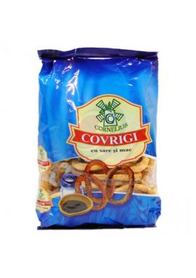 Rosquillas COVRIGI con semillas de amapola y sal 200gr.CORNELIUS