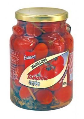 Tomates conservados CHERRY rojos (Tiempo Dorado) 920gr.EMELYA