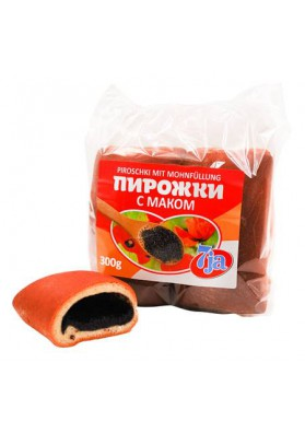 Empanadas PIROZKI con semillas de amapola 300gr.(4x75gr.) 7JA