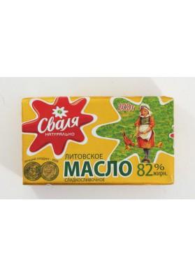 Mantequilla 82%grasa 30x200gr SVALIA
