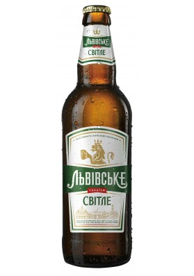 Cerveza ligera LVOVSKOE PREMIUM 4,5%alc.20x0,5L.UCRANIA