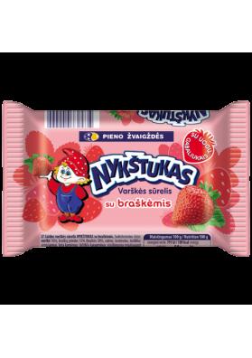 Requeson dulce sabor fresa 6x100gr NYKSTUKAS