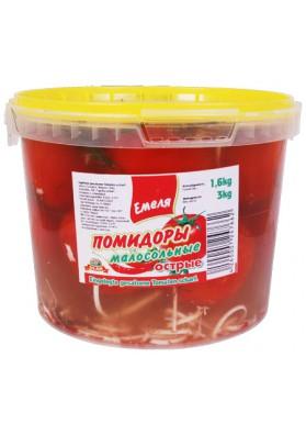 Tomates poco salados en cubo 3kg.EMELYA nuevo