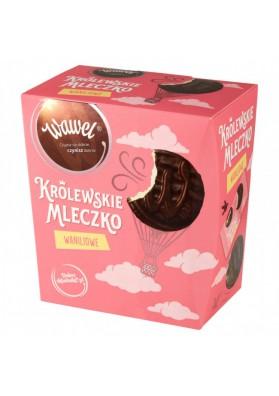 Leche de vainilla KROLEWSKIE (real) en chocolate 300gr.WAWEL
